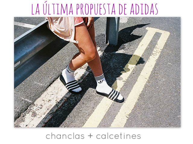 AdidasEso Y Si HorrorChanclas Calcetinesde ¬¬Lilaygris c53jRALq4