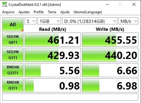 2x ST16000VN001 em RAID-0