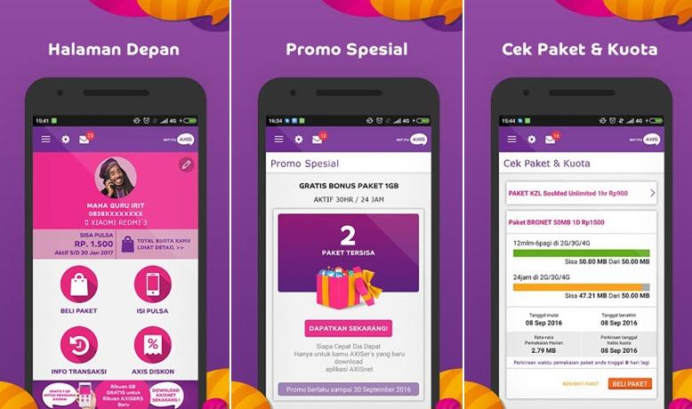 8 Aplikasi Android Untuk Cek Pulsa Sisa Kuota Internet Semua Operator