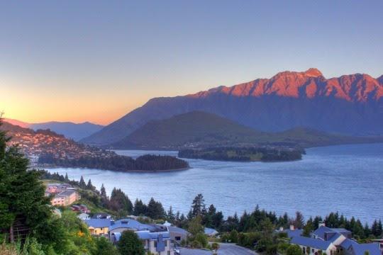 Danau Wakatipu, Selandia Baru