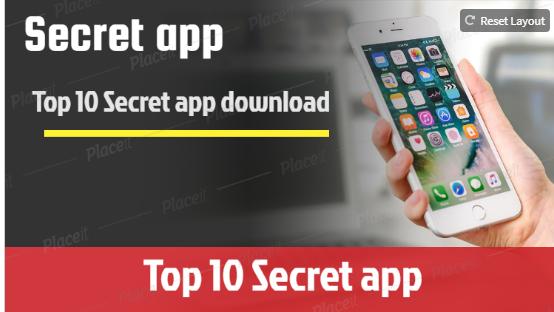Top 10 Secret app download on play store