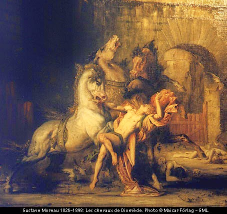 capture the Mares of Diomedes