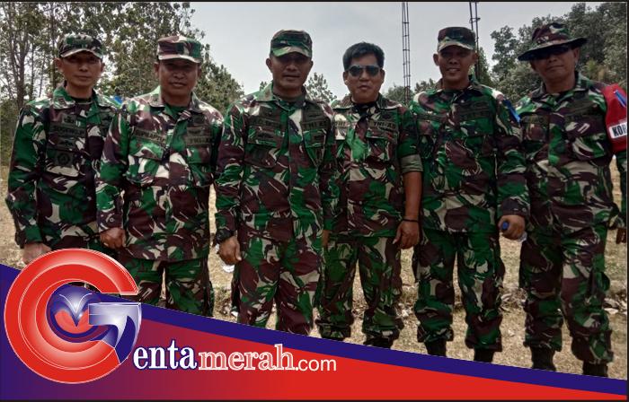 Tim Gabungan TNI-Polhut Pesawaran Amankan Puluhan Balok Ilegal Loging