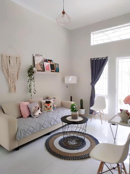 desain interior rumah minimalis type 36 luas lahan 90