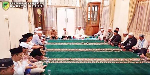 Sekda Barito Utara Mohon Doa Restu Tokoh Agama dan Tokoh Masyarakat