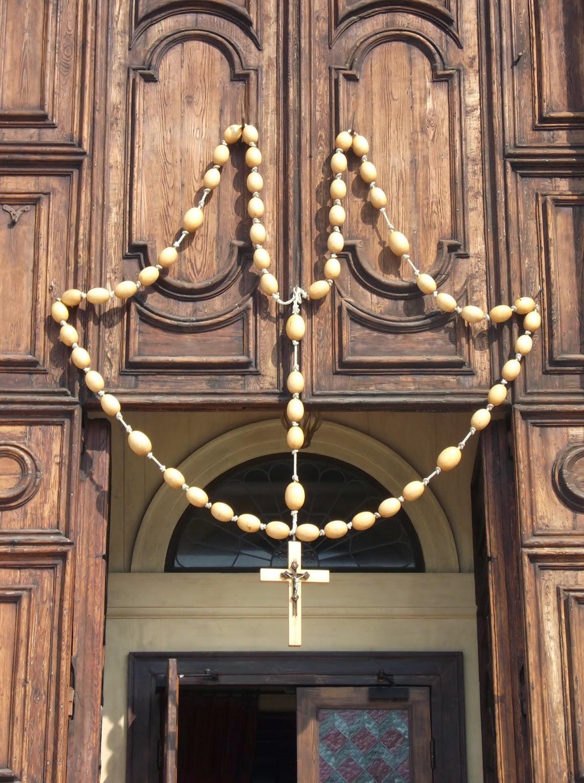 The Festa del Rosario at the church of Santa Maria del Rosario in Venice.