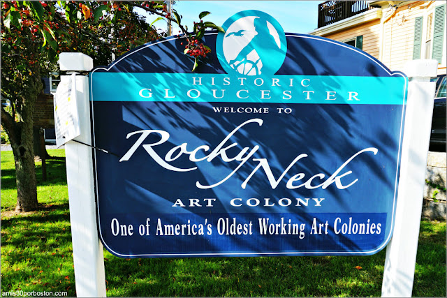 Colonia Artística Rocky Nest en Gloucester, Massachusetts