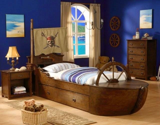 habitación temática piratas