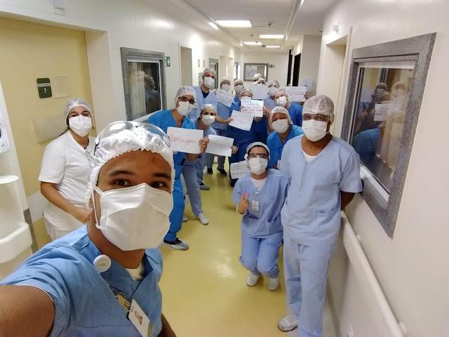 Altas no Hospital Santa Teresa