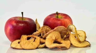 لتفاح المجفف هل يسبب زيادة الوزن