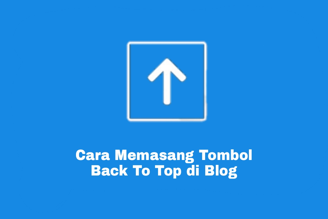 Tombol back to top