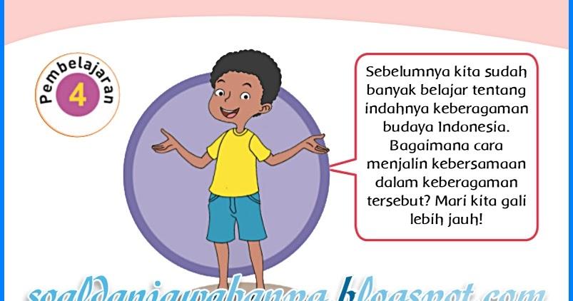 Kunci Jawaban Buku Siswa Kelas 4 Tema 1 Subtema 2 Halaman ...