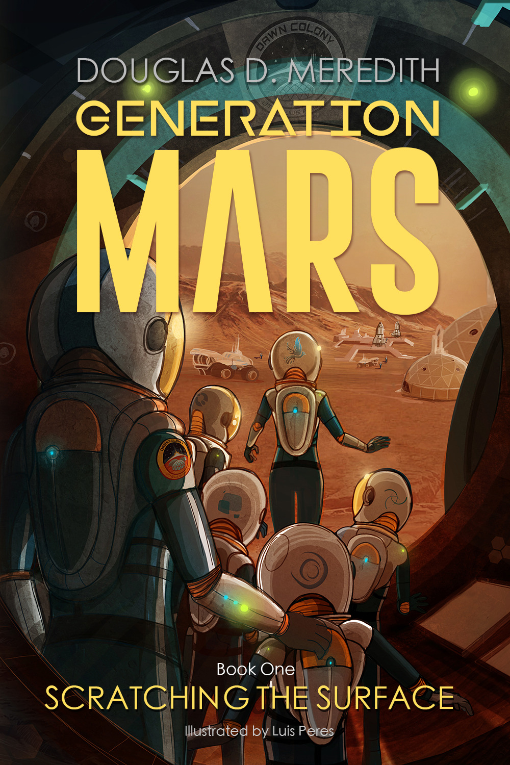 Generation Mars - Scratching the Surface by Douglas D. Meredith (book cover)