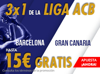 suertia promocion Barcelona vs Gran Canaria 27 septiembre