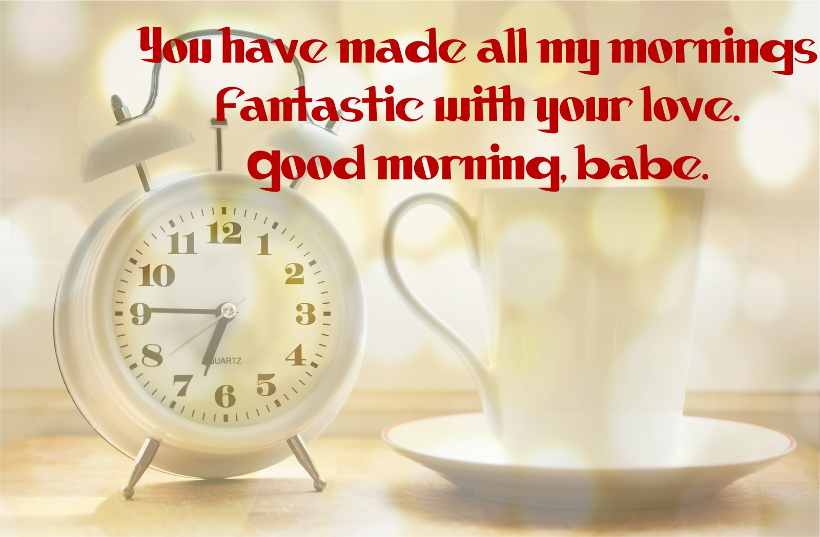 Good morning messages for a lovely girlfriend