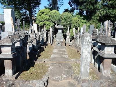慶元寺:江戸氏の墓所