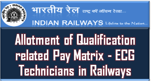 allotment-of-qualification-related-pay-matrix-ecg-technicians-in-railways-paramnews