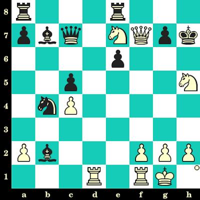 Les Blancs jouent et matent en 2 coups - Elisabeth Paehtz vs Maryna Kazak, Oropesa, 1999