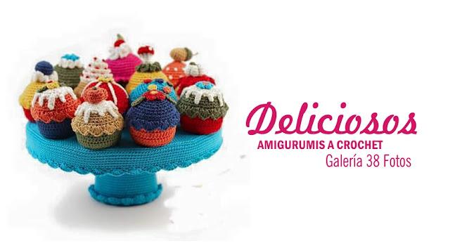 Amigurumis de Postres y Comidas a Crochet - 38 Fotos