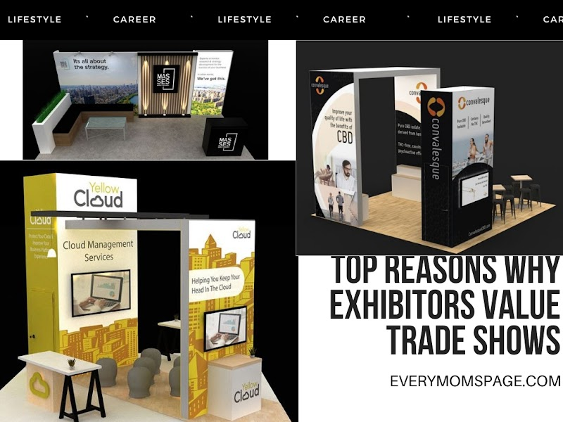 Top Reasons Why Exhibitors Value Trade Shows