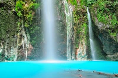tempat Wisata Air Terjun Telaga Sibolangit di medan