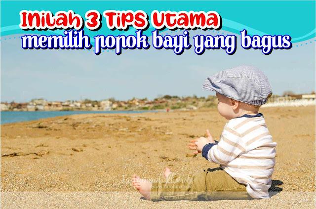 Tips memilih popok bayi yang bagus