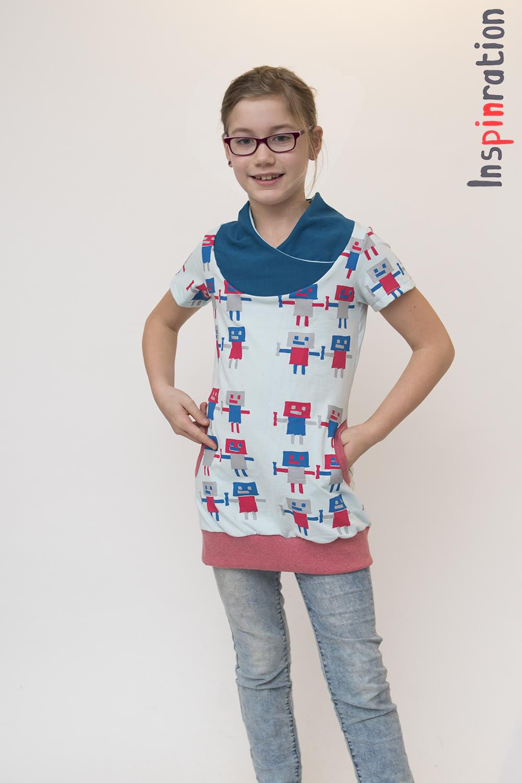 ce0a9095125eb6 In de uiteindelijke versie werd de jurk wat langer en top iets korter