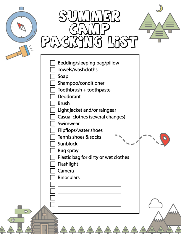 81b081aa14f2 Printing this packing list is simple, just click on the photo above or here  to get the pdf, then save it to your computer or print right from your  browser ...