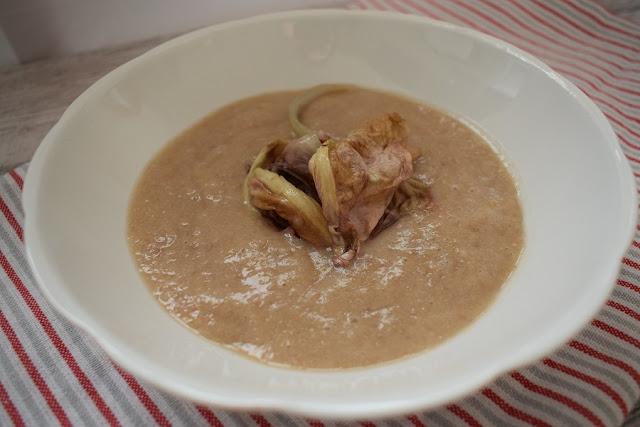Fagioli borlotti in zuppa