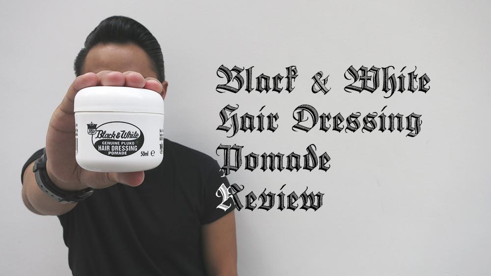 Heavy Metal Pomp Black White Hair Dressing Pomade Review