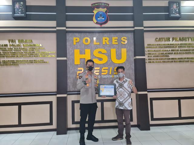 STIA Amuntai Rilis Hasil Penelitian Pelayanan Polres HSU Masuk Kategori 'Sangat Baik'