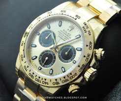 Rolex Daytona YellowGold Panda