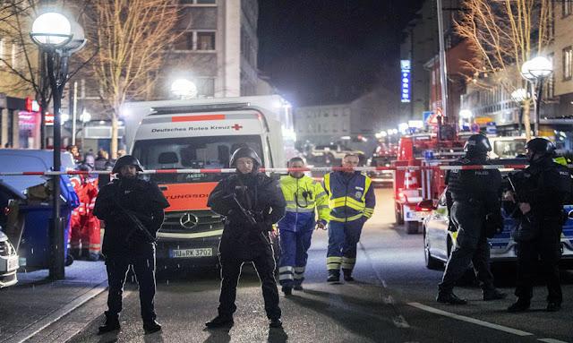 8 قتلى في إطلاق نار بمقهيين للشيشة في فرنكفورت الألمانية