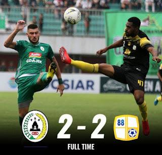 PSS Sleman vs PS Barito Putera 2-2 Highlights