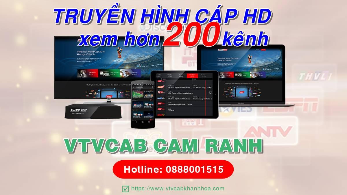 Đơn vị lắp đặt truyền hình cáp VTVCab tại Cam Ranh