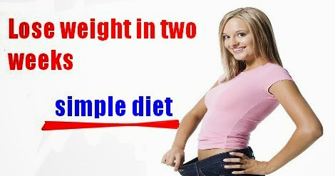 weight loss lose weight in two weeks simple diet