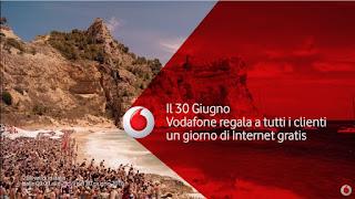 Canzone Pubblicità Vodafone internet gratis Estate 2016
