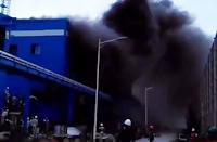 Video Amatir Rekam Detik-detik Kebakaran di PLTU Jeneponto