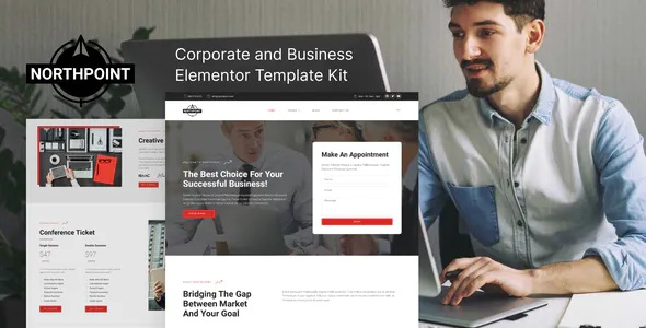 Best Business and Corporate Elementor Template Kit