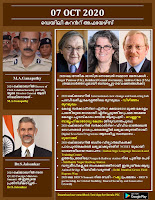 Daily Malayalam Current Affairs 07 Oct 2020