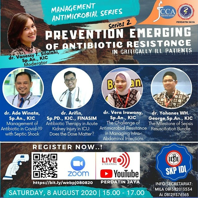 "Series 2: Management Antimicrobial Series ""Prevention Emerging of Antibiotic Resistance"""