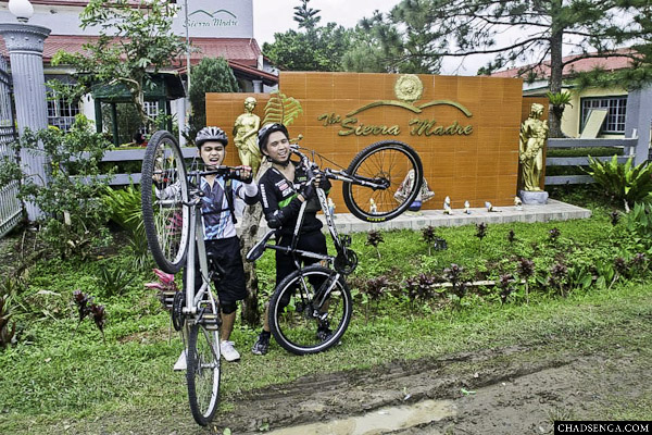 Hotel Entrance, Bike Challenge: The Sierra Madre Experience