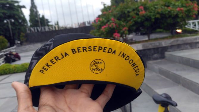 Cycling Cap edisi Bike to Work