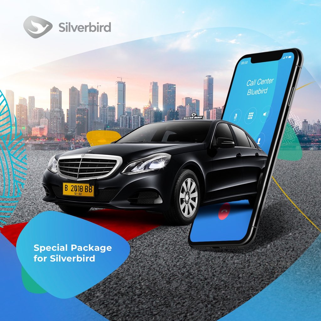 BlueBird - Promo Special Package SilverBird 12 Jam 1Juta Rupiah