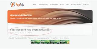 pop ads 5 magmp Cara mudah Daftar dan Menghasilkan Uang dari PopAds