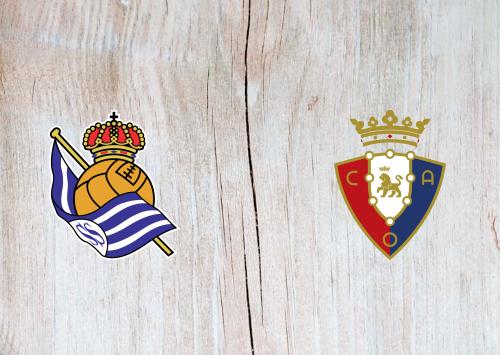 Real Sociedad vs Osasuna -Highlights 29 January 2020