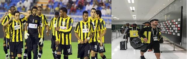اشترى نجوم نادي الاتحاد تذاكر مجانية  لمصالحة الجماهير وذالك لحضور مباراة التعاون ضد الاتحاد