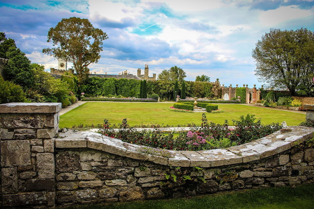 Italian Garden at Brownsea Castle
