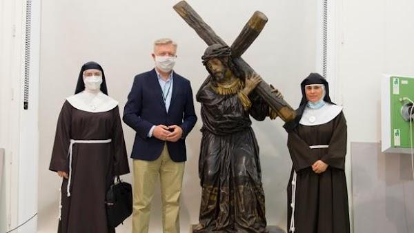 El Nazareno del Perdón, la posible primera obra pasionista de Juan de Mesa, se restaurará en el IAPH