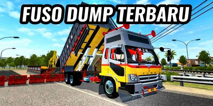 mod bussid fuso dump terbaru v3.5